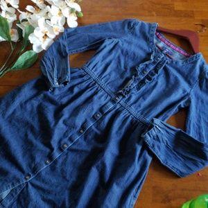Gap denim dress size xxl